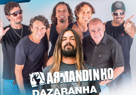 ARMANDINHO E DAZARANHA NA HANGAR